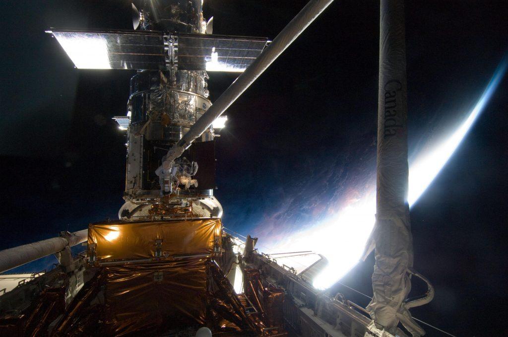 空间望远镜插图
