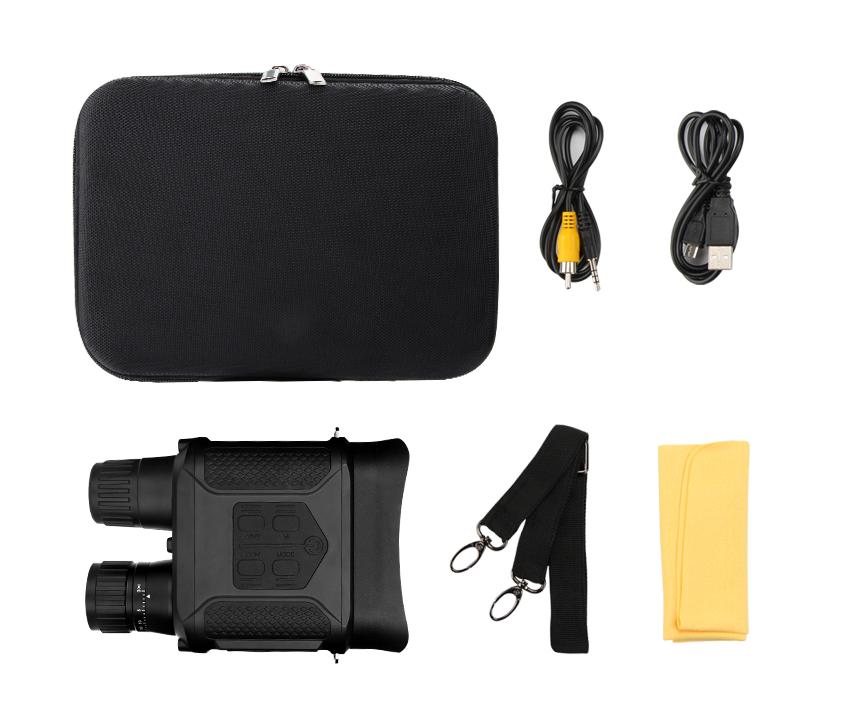 优惠|美可瑞红外线双筒数码夜视仪,无光可视插图(3)