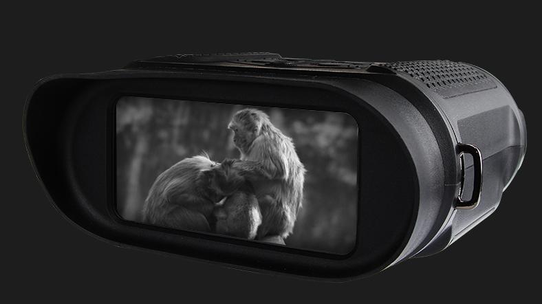 优惠|美可瑞红外线双筒数码夜视仪,无光可视插图