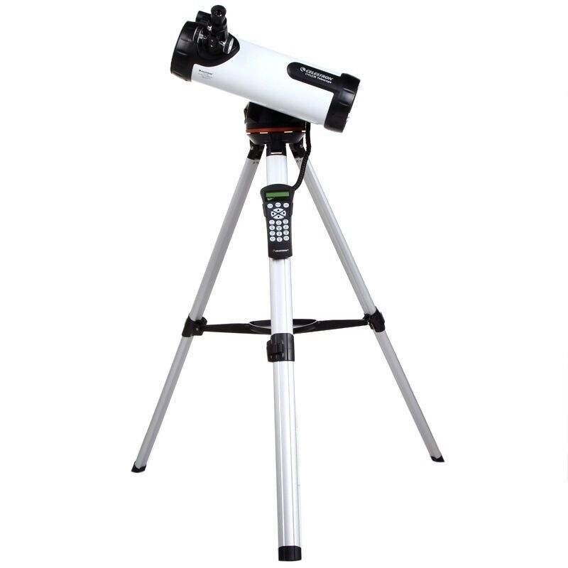 优惠星特朗天文望远镜 LCM114 中文操控 自动寻星插图