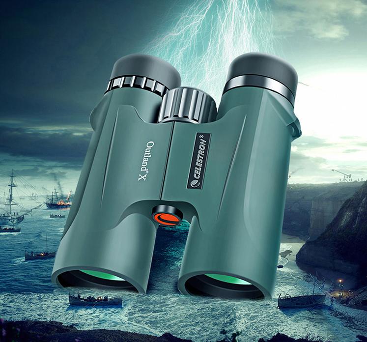 星特朗CELESTRON原野系列 10X42充氮气防水双筒望远镜插图(1)